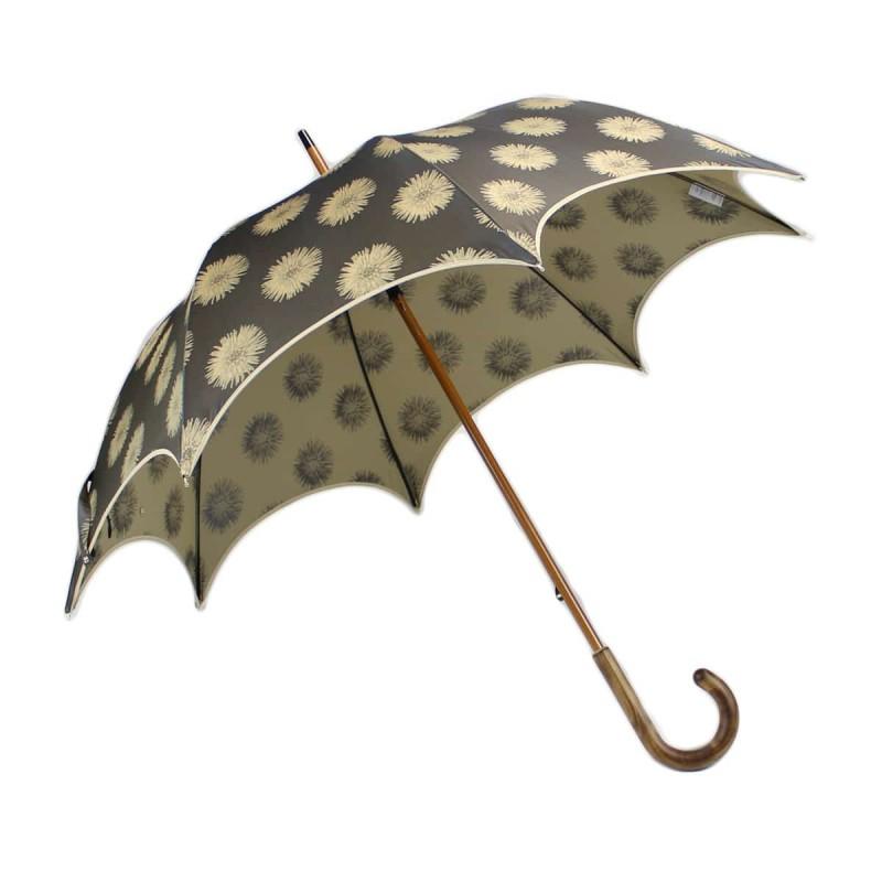 Parapluie long chic fleurs d'artifices