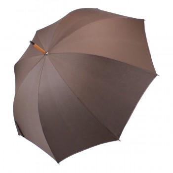 Parapluie Classique marron uni long