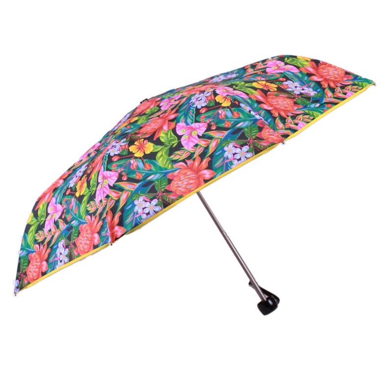 Parapluie mini fleurs exotiques