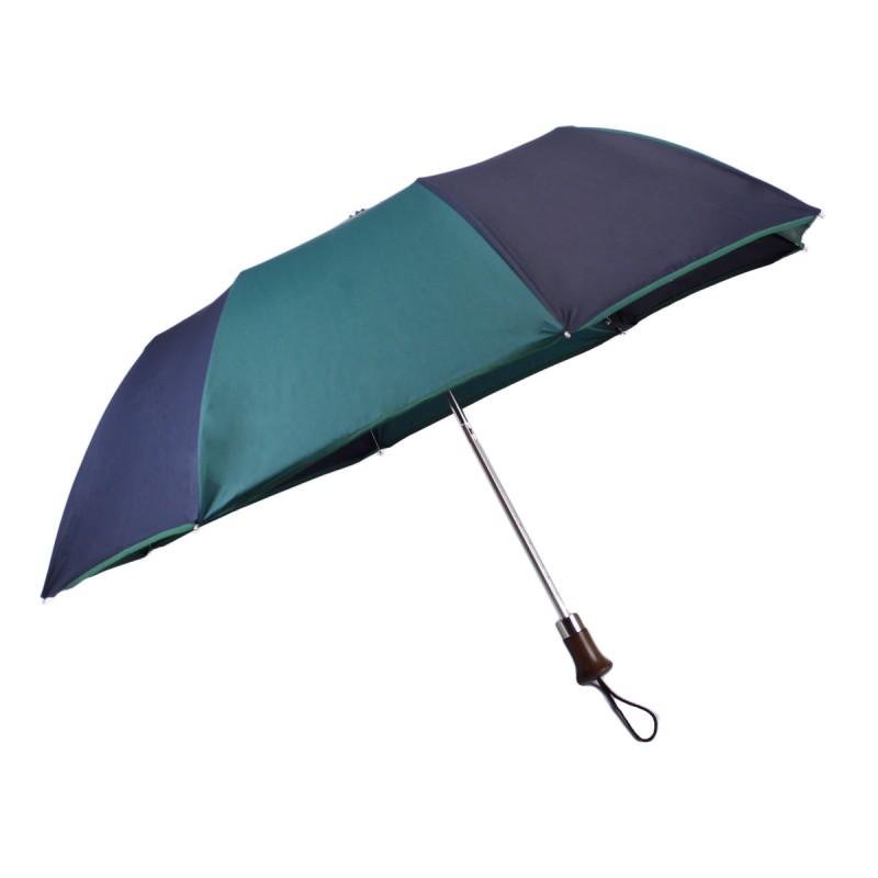 Classic folding umbrella green and blue