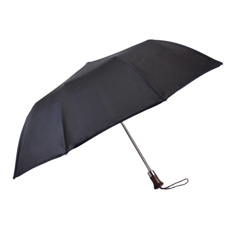 Classic black folding umbrella
