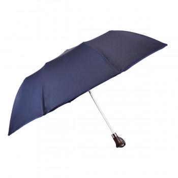 Parapluie Classique uni bleu pliant automatique