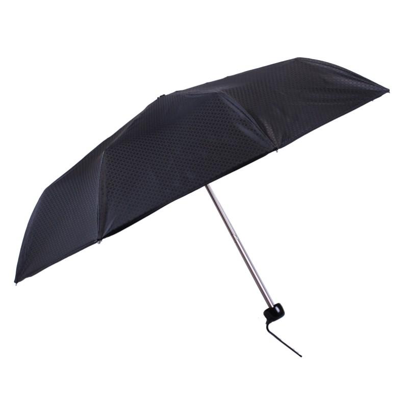 Parapluie mini jacquard noir