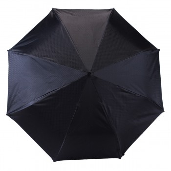 Parapluie en série limité jacquard noir mini léger ouverture manuelle