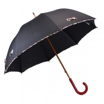 Black long umbrella and...