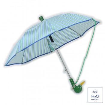 Parapluie Enfant rayé vert...