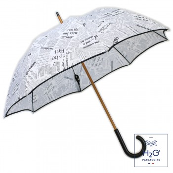 Parapluie long journal