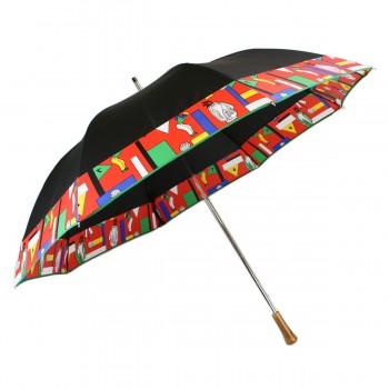 Parapluie de golf noir et...