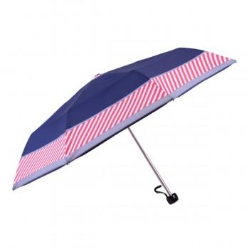 Parapluie mini rayé rouge...