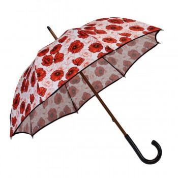 Parapluie médium coquelicots