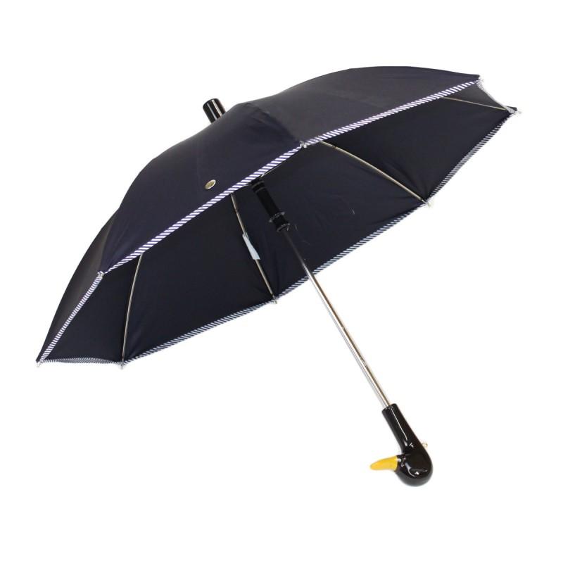Parapluie Enfant bleu marine et nœud marinière