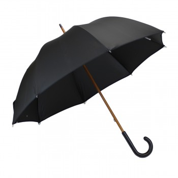 Classic black long umbrella