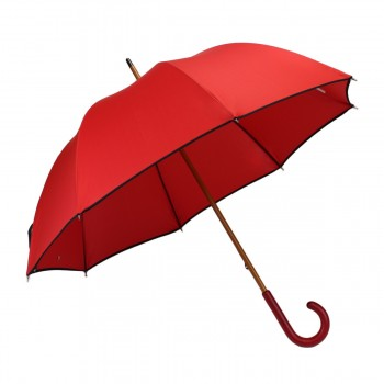 Classic red long umbrella