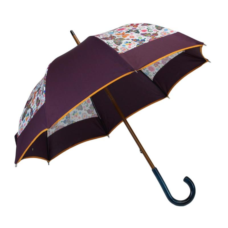 Parapluie médium moulin papillons