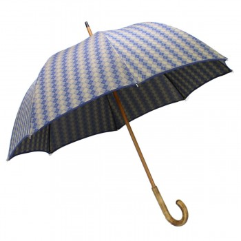 Long umbrella woven with...