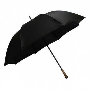 Classic black golf umbrella
