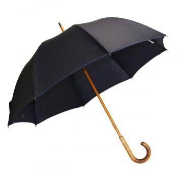 Parapluie long classique bleu