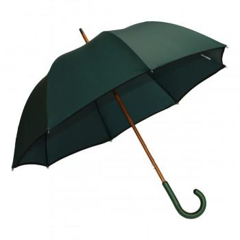 Parapluie long classique vert