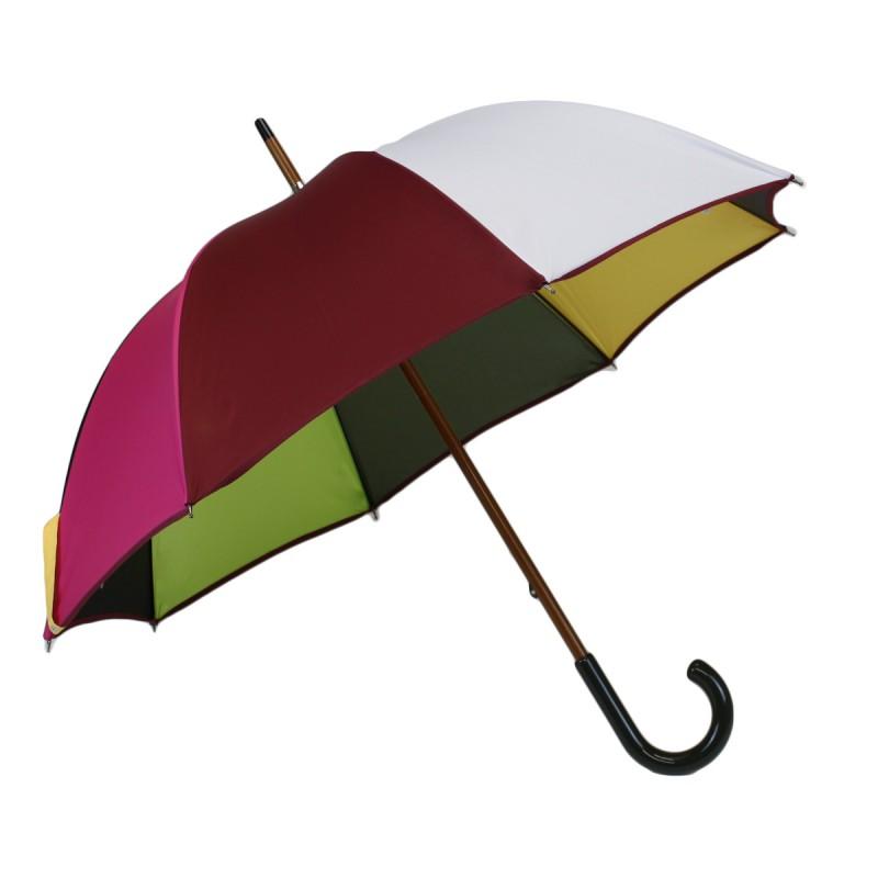 Mehrfarbiger mittlerer Regenschirm