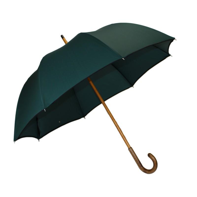 Classic green half golf umbrella
