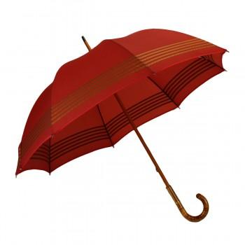 Red and gold medium umbrella