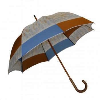 Parapluie long moulin bleu,...