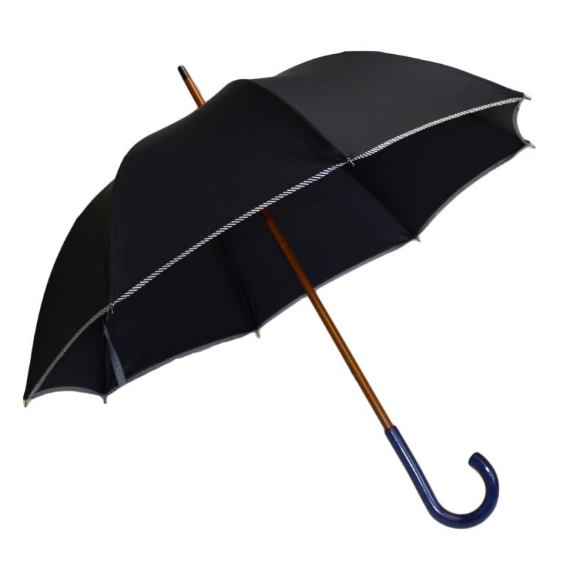 Navy Blue Classic Medium Umbrella with navy bias