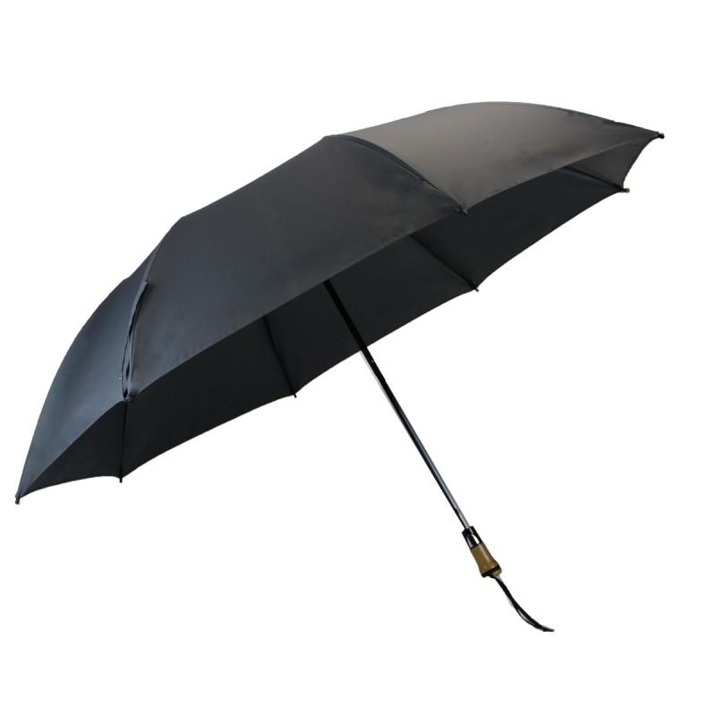 Classic folding golf umbrella black
