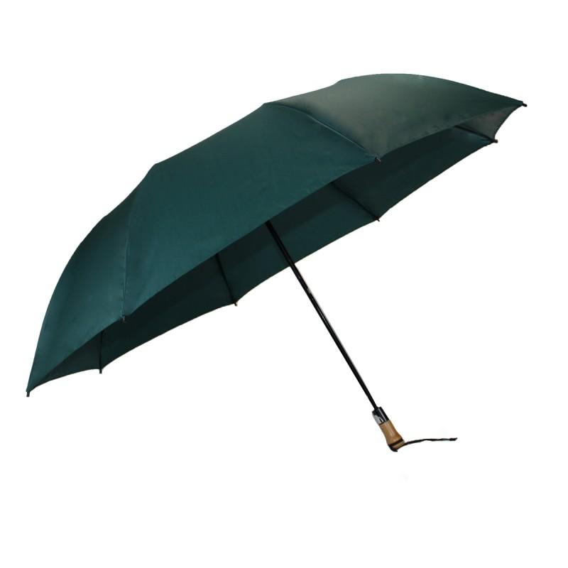 Classic green folding golf umbrella
