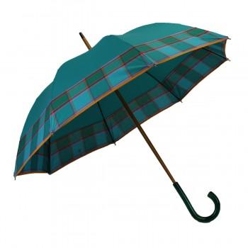 Parapluie médium vert bande...