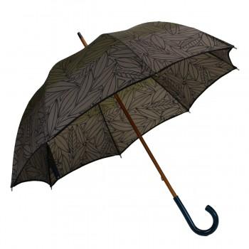 Langer bedruckter Regenschirm