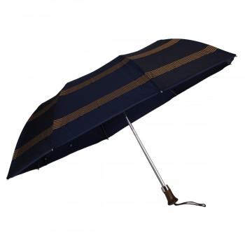 Parapluie pliant bleu avec...