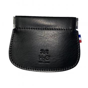 Brieftasche aus schwarzem...
