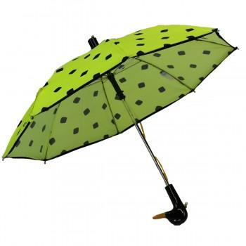 Regenschirm Kind gelb fluo...