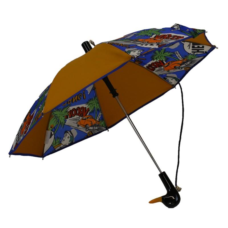 Umbrella Child camel and california pattern