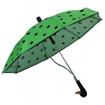 Regenschirm Kindergrün...