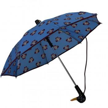 Regenschirm Kind blau mit...