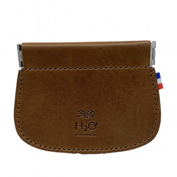 Cognac leather clic clac...