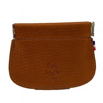 Brieftasche aus whisky Leder