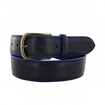 Pestige navy belt