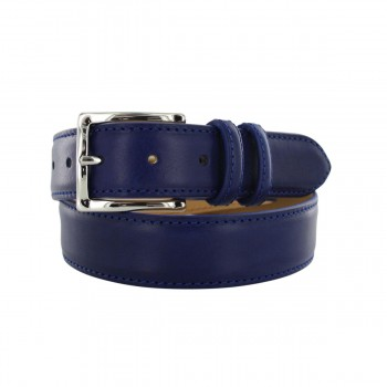 Prestige petrol blue belt