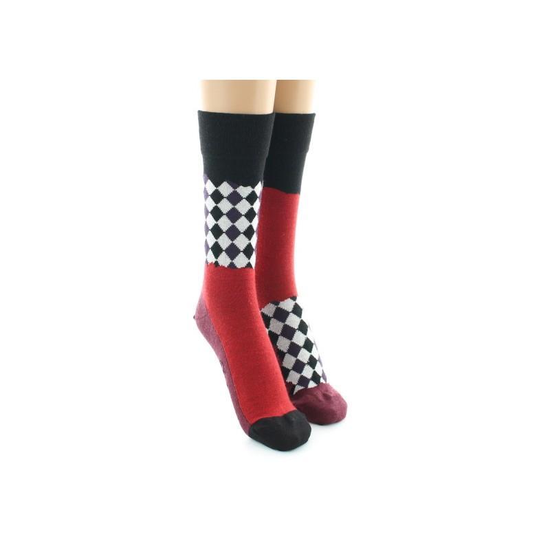 Berthe Aux Grands Pieds checkerboard sock aims versa