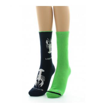 Wendbarer Dagobert-Socken...