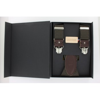 Brown straps with small...