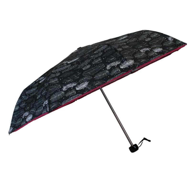 Pink bias mini feather umbrella