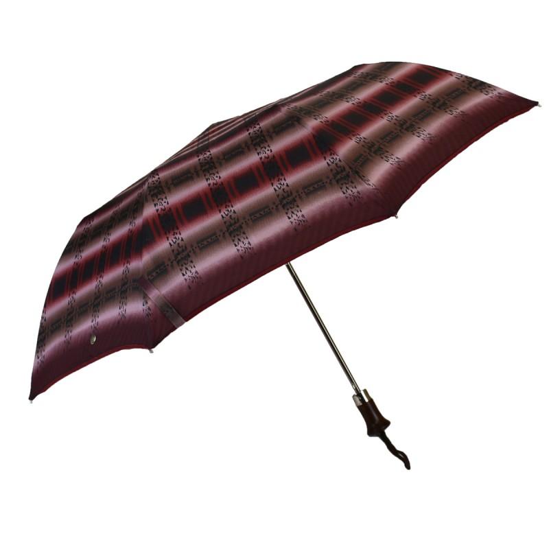 Folding umbrella purple gradient pattern