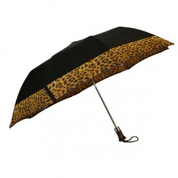 Leopard-Klappschirm