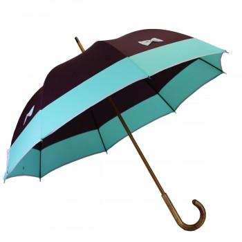 Parapluie long violet à...