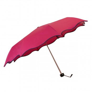 Mini-Wellenschirm rosa mit...