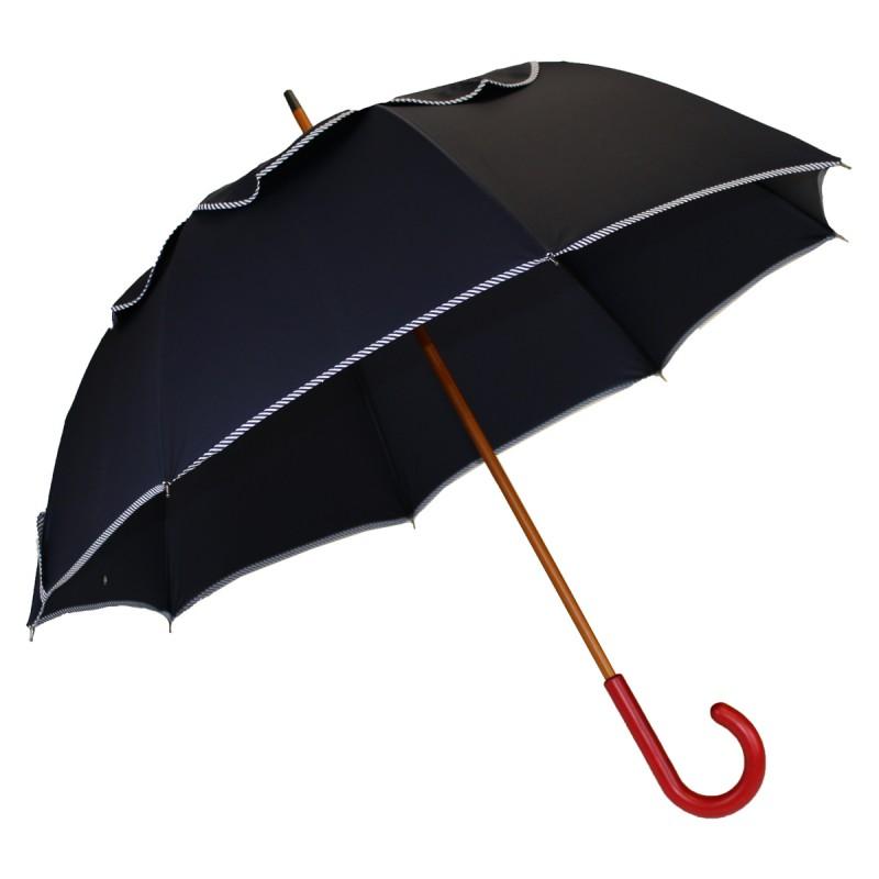 Parapluie Passvent bleu marine biais marinière
